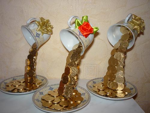 Поделки из монет своими руками мастер класс