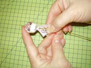 Букет крокусов из конфет