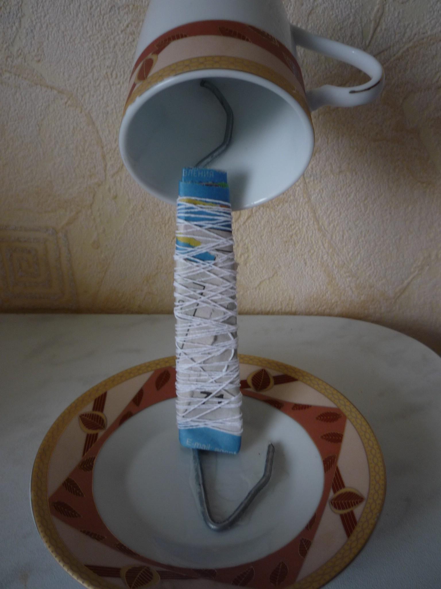 Как сделать из кружки поделку