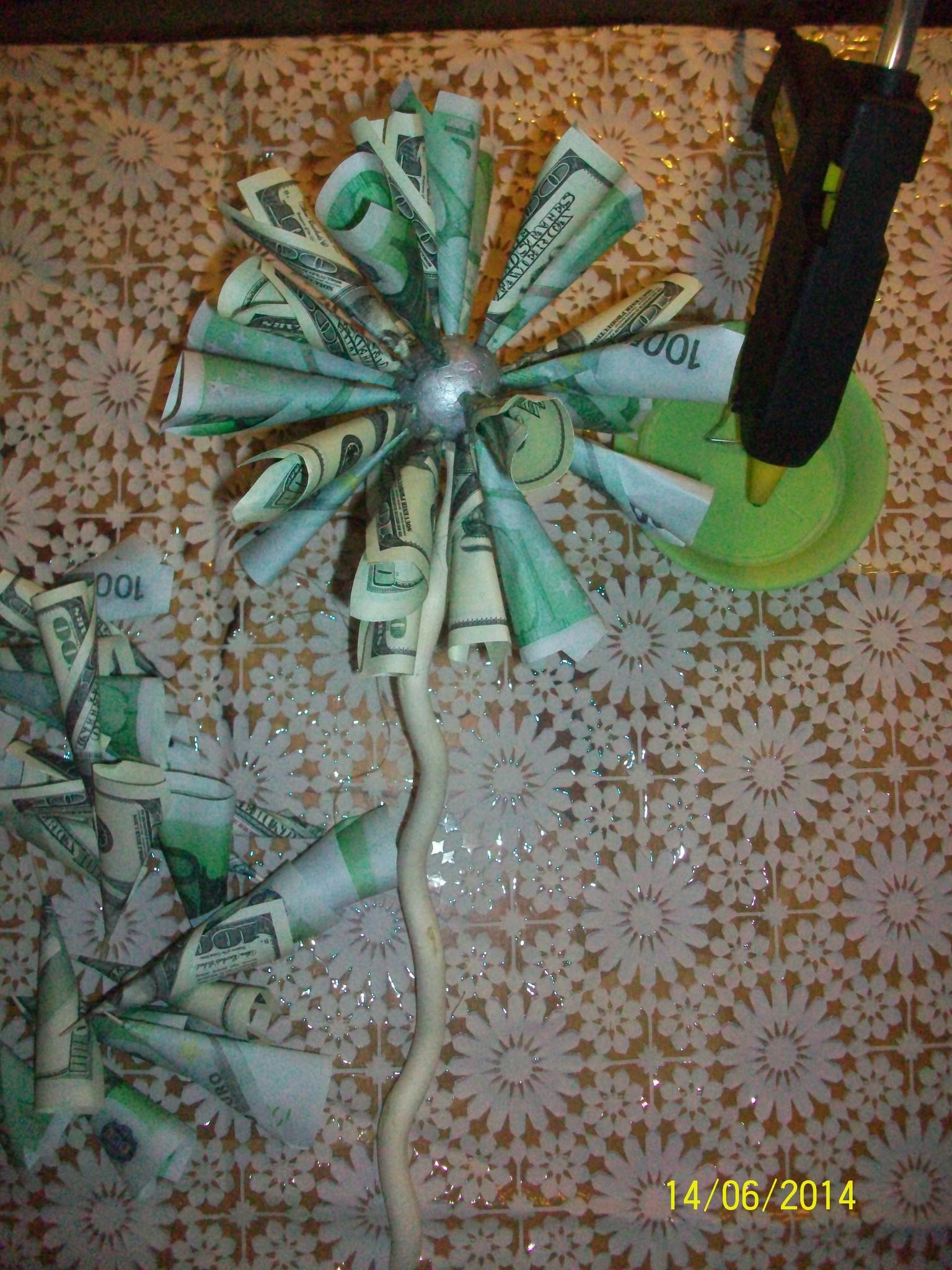 Топиарий денежное дерево из купюр своими руками фото 237