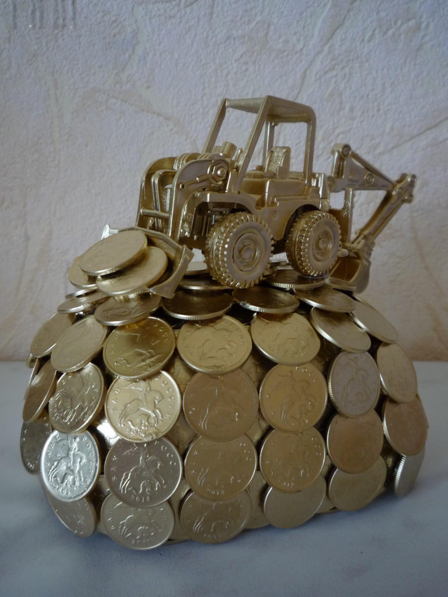 Что можно сделать из монет? Полезное. или красивое? 100