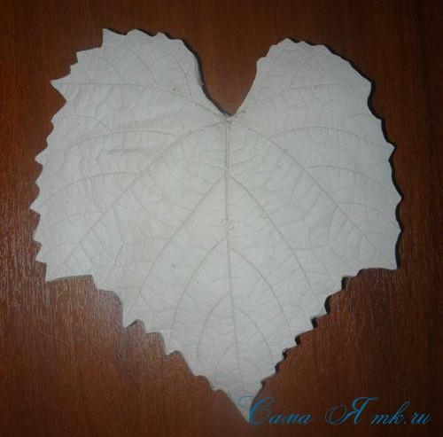 листья из гипса 11