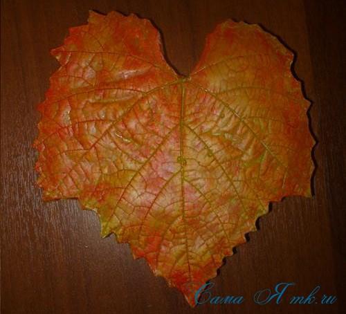 листья из гипса 15