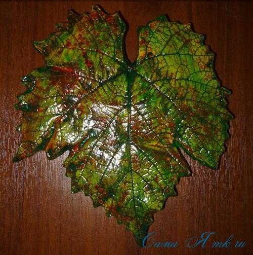листья из гипса 18