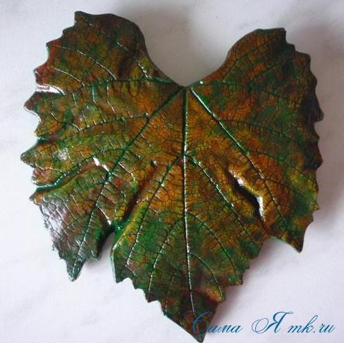 листья из гипса 19