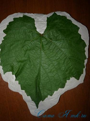 листья из гипса 7