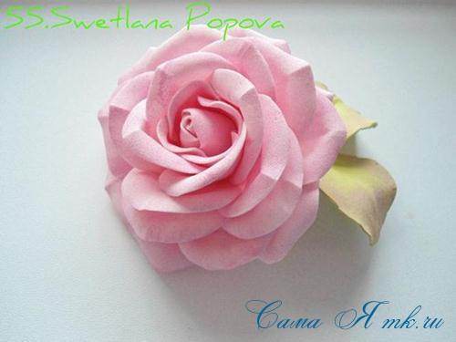роза из фоамирана 2 (Copy)