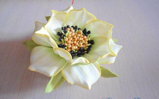 Изделия из фоамирана фото и схемы цветов