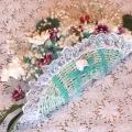 букет невесты в форме веера