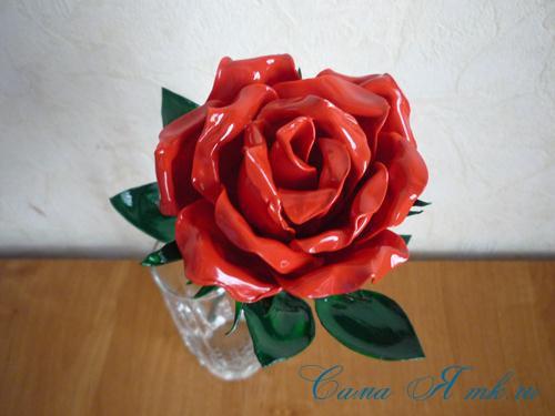 цветок-из-ложек