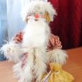 Дед мороз из трубочек