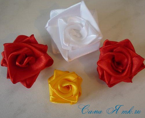 розы-из-лент