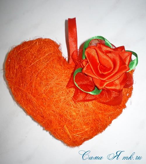 сердце из сизаля