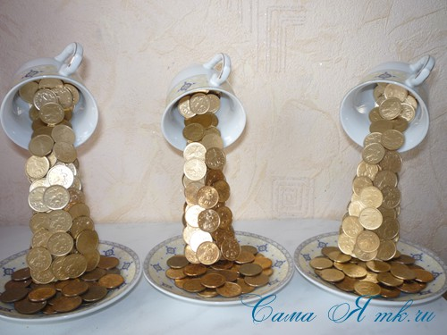 проливашки из монет