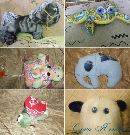 Мягкие подушки-игрушки 1 (Copy)