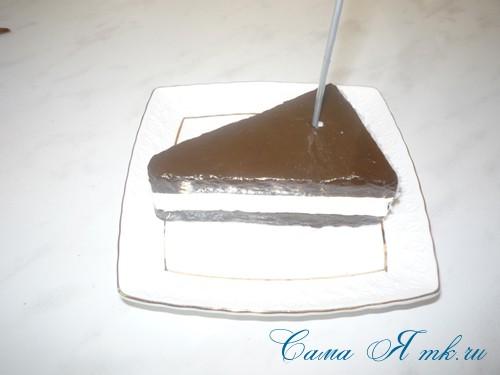 чашка проливашка с кофе и тортиком 14