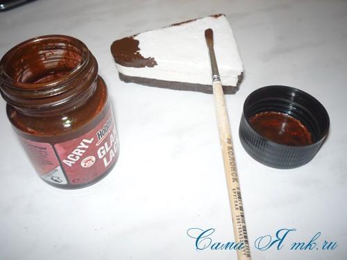 чашка проливашка с кофе и тортиком 7