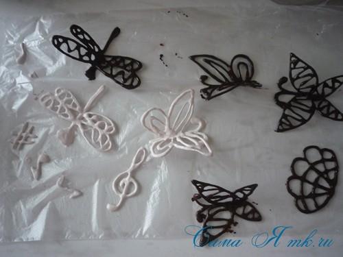 шоколадные украшения для поделок из зерен кофе (кофейных сувениров) 17