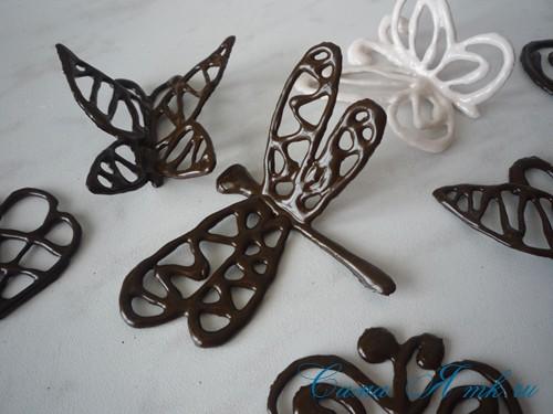 шоколадные украшения для поделок из зерен кофе (кофейных сувениров) 19