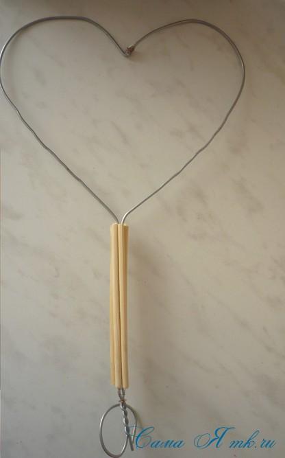 каркас из проволоки для топиария из сизаля1