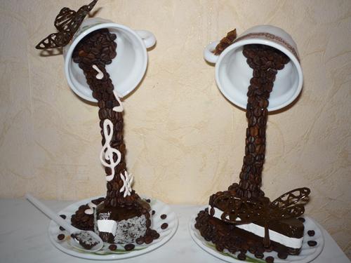 проливашка с тортиком