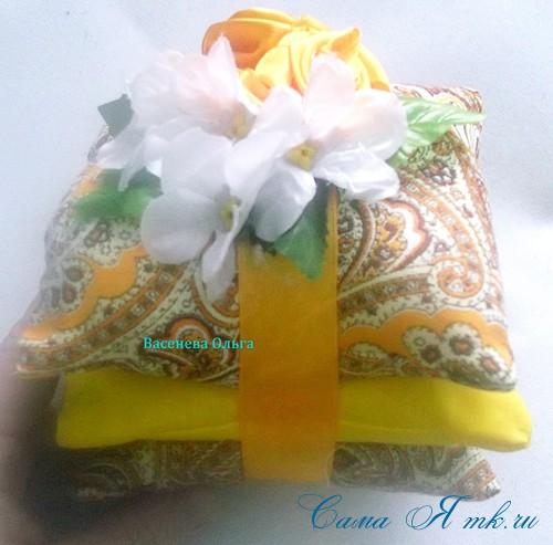 ароматические саше подушечки