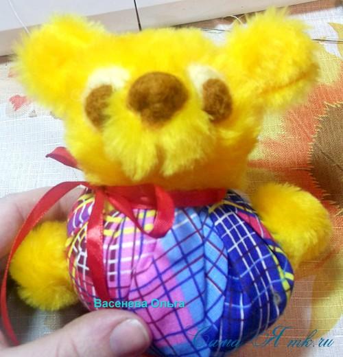 ароматическая игрушка-саше для ребенка