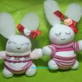 пасхальные зайцы из носков