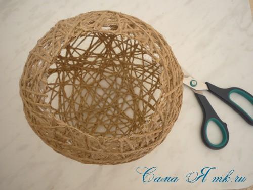 Гнездо из шпагата