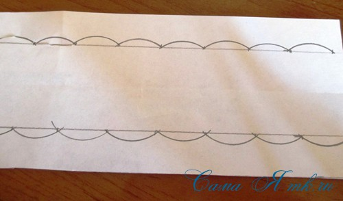 имитация выбивной полотняной салфетки 4 (Copy)