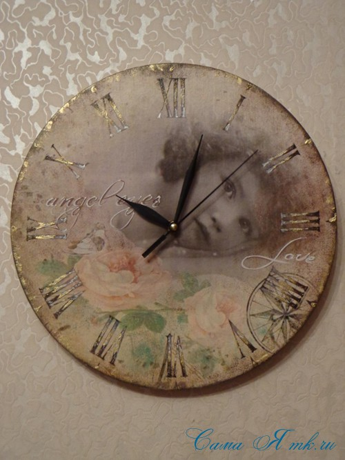 часы декупаж 51 (Copy)