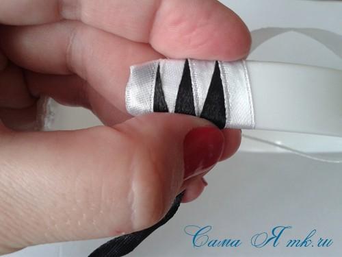 плетение зубчиками 14