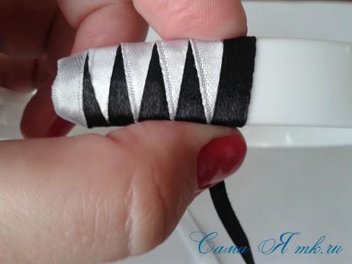 плетение зубчиками 17