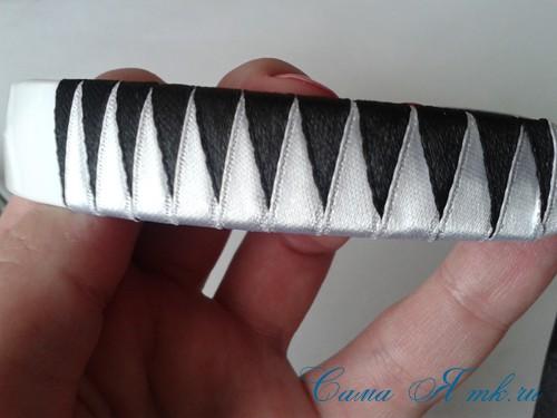 плетение зубчиками 9