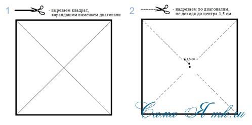 4-х лопастной детский ветерок-вертушка 1 (Copy)