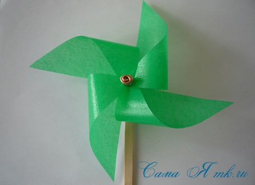 4-х лопастной детский ветерок-вертушка 15