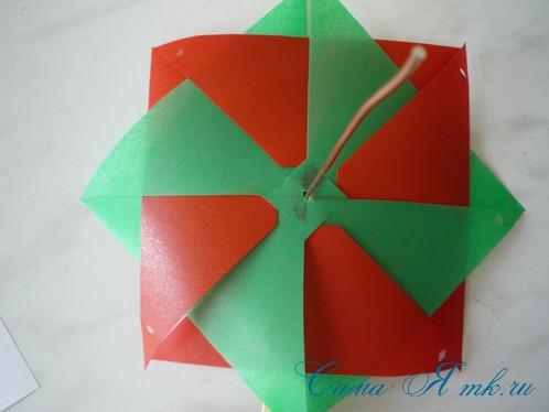 8-и лопастной детский ветерок вертушка 9