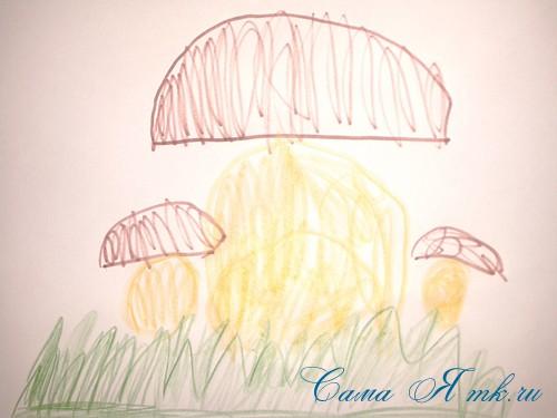 гриб игольница из фетра как сшить выкройка 2