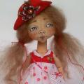 как нарисовать лицо сшить текстильную куклу выкройка