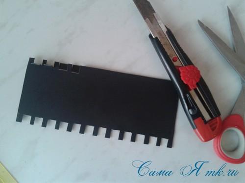 как удобно хранить остатки тонких узких атласных лент 5 (Copy)