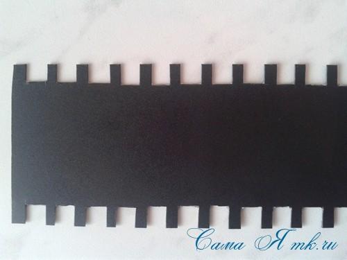 как удобно хранить остатки тонких узких атласных лент 6 (Copy)