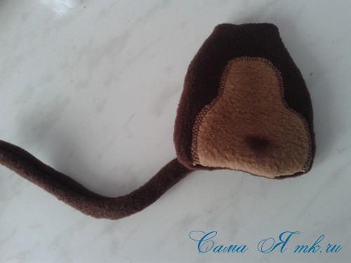 мягкая игрушка обезьяна сшить из флиса выкройка и описание 29