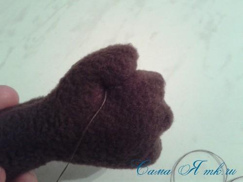 мягкая игрушка обезьяна сшить из флиса выкройка и описание 45