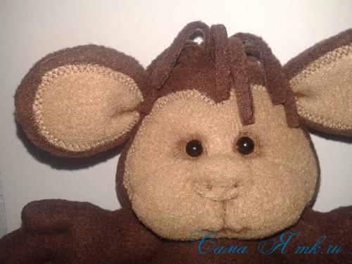 мягкая игрушка обезьяна сшить из флиса выкройка и описание 54