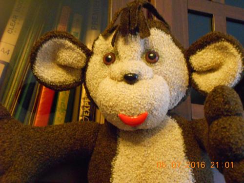 обезьянка своими руками из флиса 1
