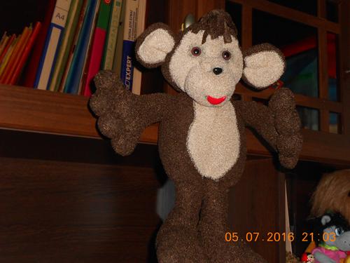 обезьянка своими руками из флиса 3