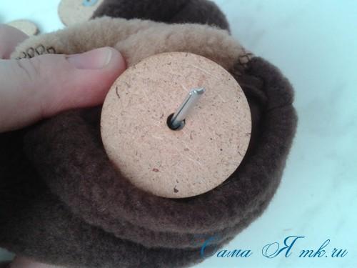 Шплинтовое крепление деталей игрушки работа со шплинтами, качающееся крепление 10 (Copy)