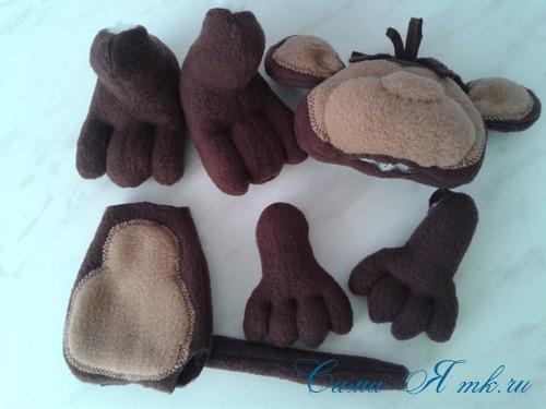 Шплинтовое крепление деталей игрушки работа со шплинтами, качающееся крепление 2 (Copy)