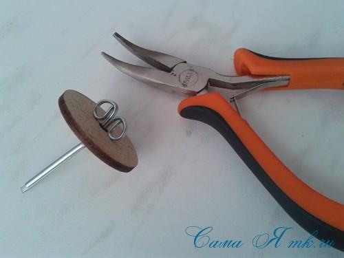 Шплинтовое крепление деталей игрушки работа со шплинтами, качающееся крепление 7 (Copy)