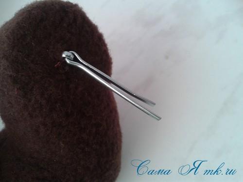 Шплинтовое крепление деталей игрушки работа со шплинтами, качающееся крепление 8 (Copy)